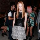 Jessica Chastain: at Proenza Schouler Spring 2013 Fashion Show during Mercedes Benz Fashion Week in New York