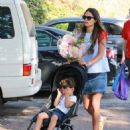 'Furious 7' actress Jordana Brewster went to the farmer's market with her family in Los Angeles, California on August 21, 2016 - 454 x 599