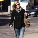 Claire Danes - Out And About In Soho, 9 March 2010