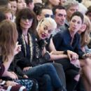 Nancy Shevell, Sir Paul McCartney, Chrissie Hynde; Rita Ora; Jamie Campbell Bower and Mary McCartney attend the Hunter Original show during London Fashion Week Spring Summer 2015 at on September 13, 2014 in London, England.