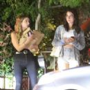 Ashley Benson – Out for dinner with a friend in Los Feliz