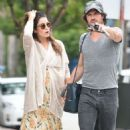 Nikki Reed with Ian Somerhalder out in Los Angeles - 454 x 751