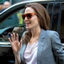 Angelina Jolie Arrives at the Paley Center (November 21, 2014)