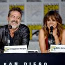 "Actress Halle Berry speaks onstage during the CBS TV Studios' panel for ""Extant"" during Comic-Con International 2015 at the San Diego Convention Center on July 9, 2015 in San Diego, California"