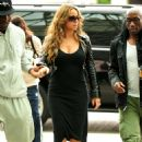 Mariah Carey Departs LAX Airport, October 11 2009