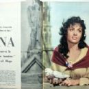 Gina Lollobrigida - Jours de France Magazine Pictorial [France] (4 August 1956) - 454 x 314
