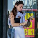 Madison Beer – Shopping at Barneys New York in Beverly Hills