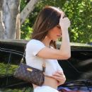 Kendall Jenner running errands in West Hollywood