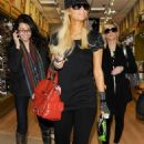 Paris Hilton - catching a flight to Germany at LAX - February 2 2011