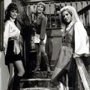 Lori Saunders, Linda Kaye Henning & Meredith MacRae on Petticoat Junction