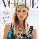 Isabel Lucas - Vogue Magazine Cover [Australia] (December 2011)