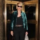 Jenna Elfman Leaving NBC Studios in NYC