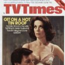 Robert Wagner and Natalie Wood - TV Times Magazine Cover [United Kingdom] (10 December 1976)