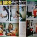 Sophia Loren - Hola! Magazine Pictorial [Spain] (24 May 1969) - 453 x 326