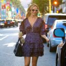 Stacy Keibler in Mini Dress – Out in Beverly Hills - 454 x 681
