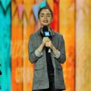Lily Collins – hosts 'We Day' in Seattle - 454 x 682