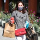 Molly Shannon – Leaving Erewhon Organic in Los Angeles - 454 x 303