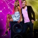David Guetta and Cathy Guetta