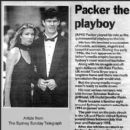 Jennifer Flavin and James Packer