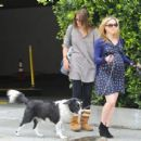 Anna Paquin taking her dog for a walk in Venice, CA (August 24) - 454 x 412
