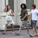 Emmy Rossum - Out In SoHo After Shopping In The Apple Store - July 22, 2010