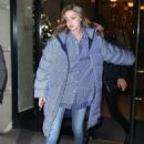 Gigi Hadid – Night out in New York City