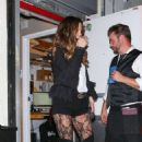 Kate Beckinsale in Shorts – Leaving Craig's restaurant in Los Angeles