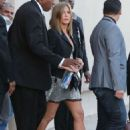 Jennifer Aniston At Jimmy Kimmel Live In Hollywood