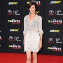 Catherine Bell Muppets Most Wanted Premiere In La