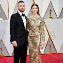 Justin Timberlake & Jessica Biel :  89th Annual Academy Awards - Arrivals