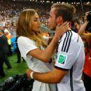 Mario Götze and Ann-Kathrin Kiss World Cup Final 2014 - 454 x 625