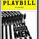 A FEW GOOD MEN  a play by Aaron Sorkin - 262 x 397