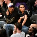 Kendall Jenner – Los Angeles Lakers and the Houston Rockets game in LA