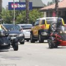 Blac Chyna and Amber Rose Riding Around in Los Angeles - May 28, 2015