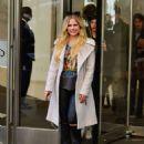 Avril Lavigne and Phillip Sarofim – Leaving SiriusXM Radio in New York City - 454 x 598