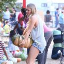 LeAnn Rimes Mr Bones Pumpkin Patch In West Hollywood