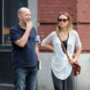 Olivia Wilde: walked around SoHo in New York City