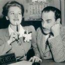 Virginia Christine With Fritz Feld