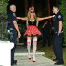 Paris Hilton Halloween Party In Beverly Hills