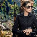 Bianca Balti for Dolce & Gabbana Fall 2014 Eyewear Campaign