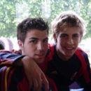 Cesc Fabregas with gerad pique