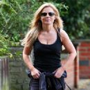Geri Halliwell - Out Walking Near Her Home In London, July 27 2009