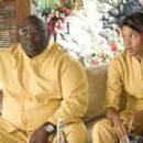 Faizon Love with Kali Hawk as Trudy in Universal Pictures' Couples Retreat.