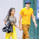 Zoe Kravitz – With boyfriend out in Soho