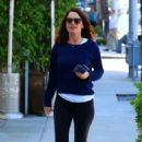 Robin Tunney in Tights out in Beverly Hills - 454 x 688