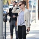 Amy Adams – Out and about in Los Angeles