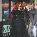 Christina Hendricks – Spotted at Build Series while promoting her work - 454 x 681