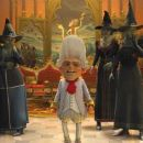 Wolf (ARON WARNER, left) and the witches have no choice but to do the bidding of Rumpelstiltskin (WALT DOHRN, center) in DreamWorks Animation's 'Shrek Forever After' which releases May 21, 2010 and distributed by Paramount Pictures. Shrek Fore - 454 x 193