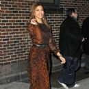 "Eva Mendes: stopped at "" The Late Show with David Letterman"""