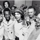Pelé, Mick Jagger and Ahmet Ertegun
